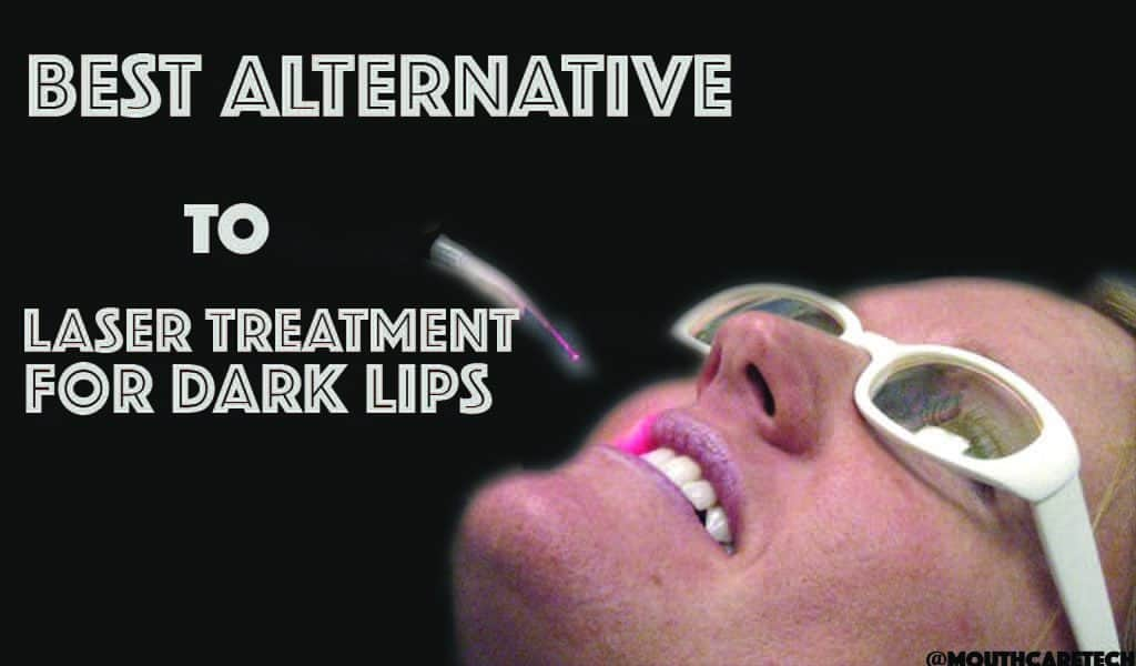 Laser Treatment for Dark Lips