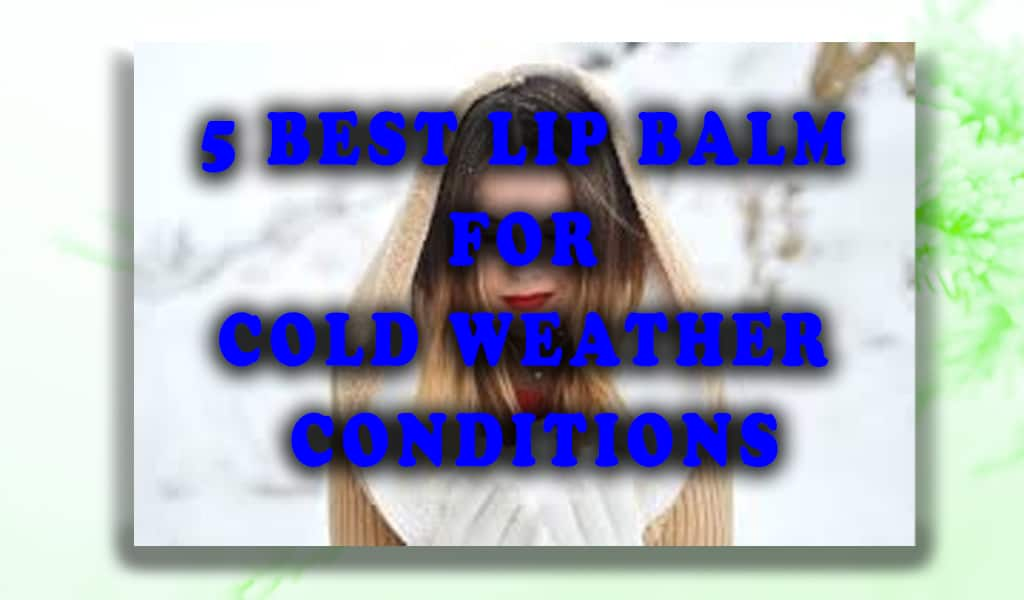best lip balm for cold weather conditions